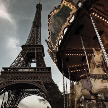 Париж карусель