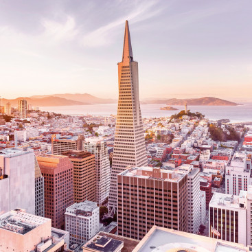 Утро в Сан Франциско