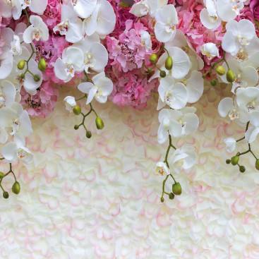 Каскад орхидей